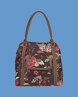 OILILY Tasche Shopper Brown PAISLY FLOWER