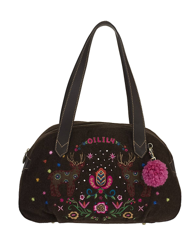 OILILY Carry All Folkloric Wool braun