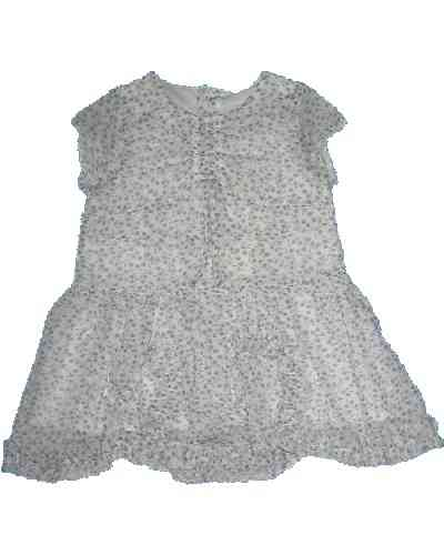 Catimini Kleid WHITE AND...GREY