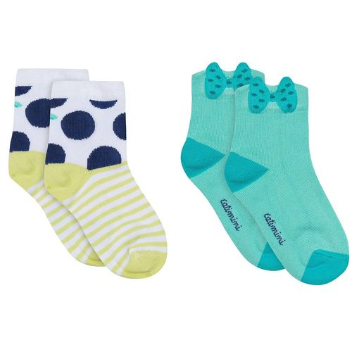 Catimini Girls Layette Socken Doppelpack