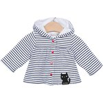 Catimini Girls Baby Cardigan reversibl