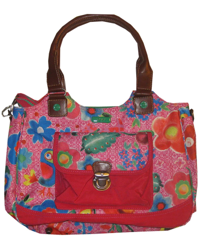 OILILY M Carry All FUNKY FLOWER pink