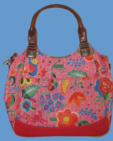 OILILY Shopper FUNKY FLOWER pink