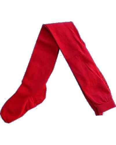 MP-Strumpfhose SOLID PLAIN, rot