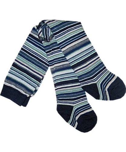 MP-Strumpfhose MULTI STRIPES blau