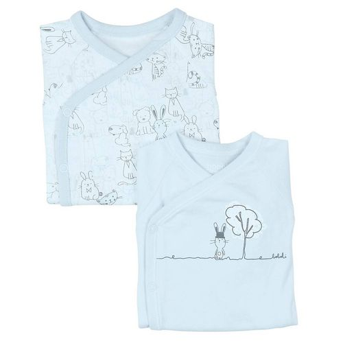Boboli Best Buddies Baby Jungen 2-er Pack Bodys
