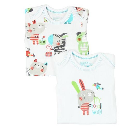 Boboli Magic Jungle Baby Jungen 2-er Pack Bodies
