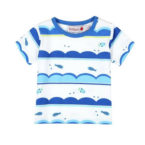 Boboli Lovely Blue Baby Jungen T-Shirt