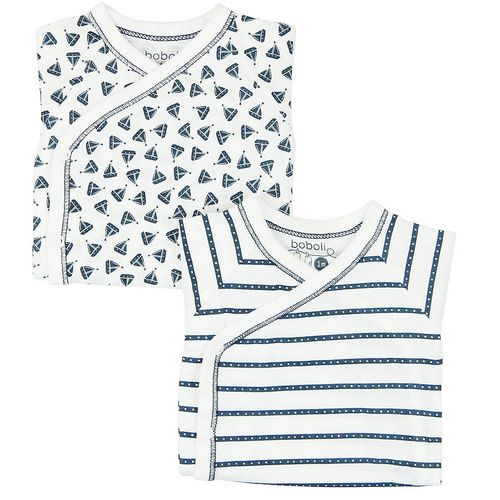 Boboli Across the sea Baby 2-er Pack Bodys