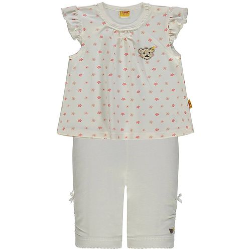 Steiff Flower Garden Girls Set T-Shirt und Capri Leggings