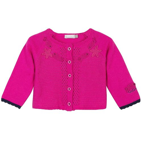 Catimini Girls Mini Kid Creative Strickjacke