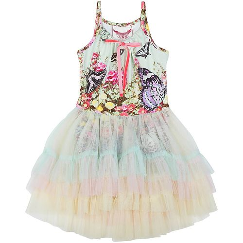 Paper Wings Girls Kleid Flower Garden