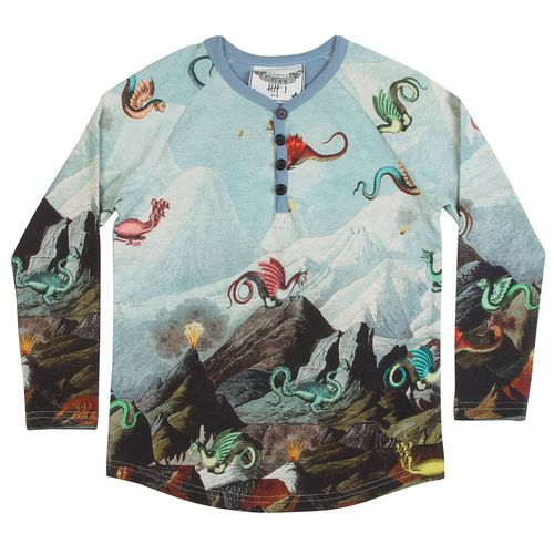 Paper Wings Jungen Shirt Monster Mountain