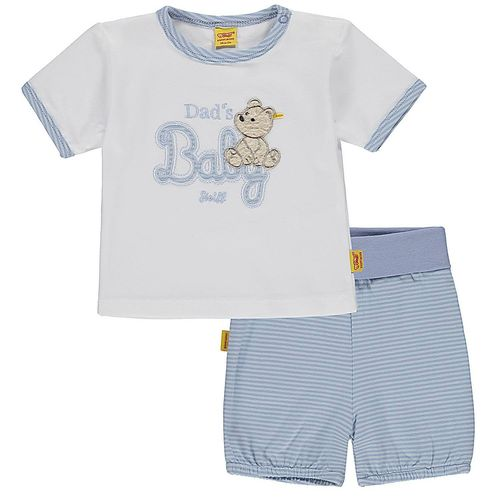 Steiff Jungen Summer Colors 2 tlg. Set T-Shirt und Shorts