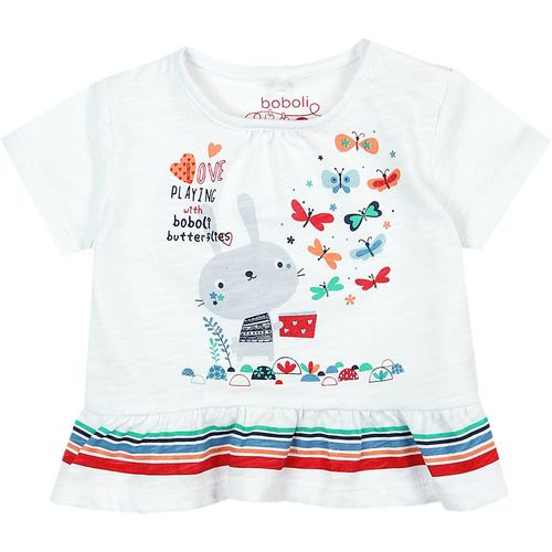 Boboli Baby Mädchen Paying On T-Shirt
