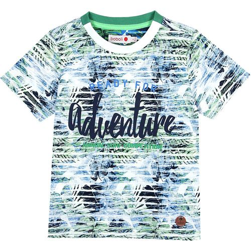 Boboli Jungen Tropical Sailor T-Shirt