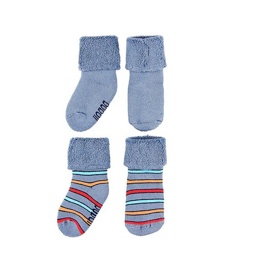 Boboli Baby Jungen Coloured Winter Doppelpack Socken