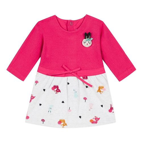 Catimini Baby Mädchen Graphic Floral Kleid