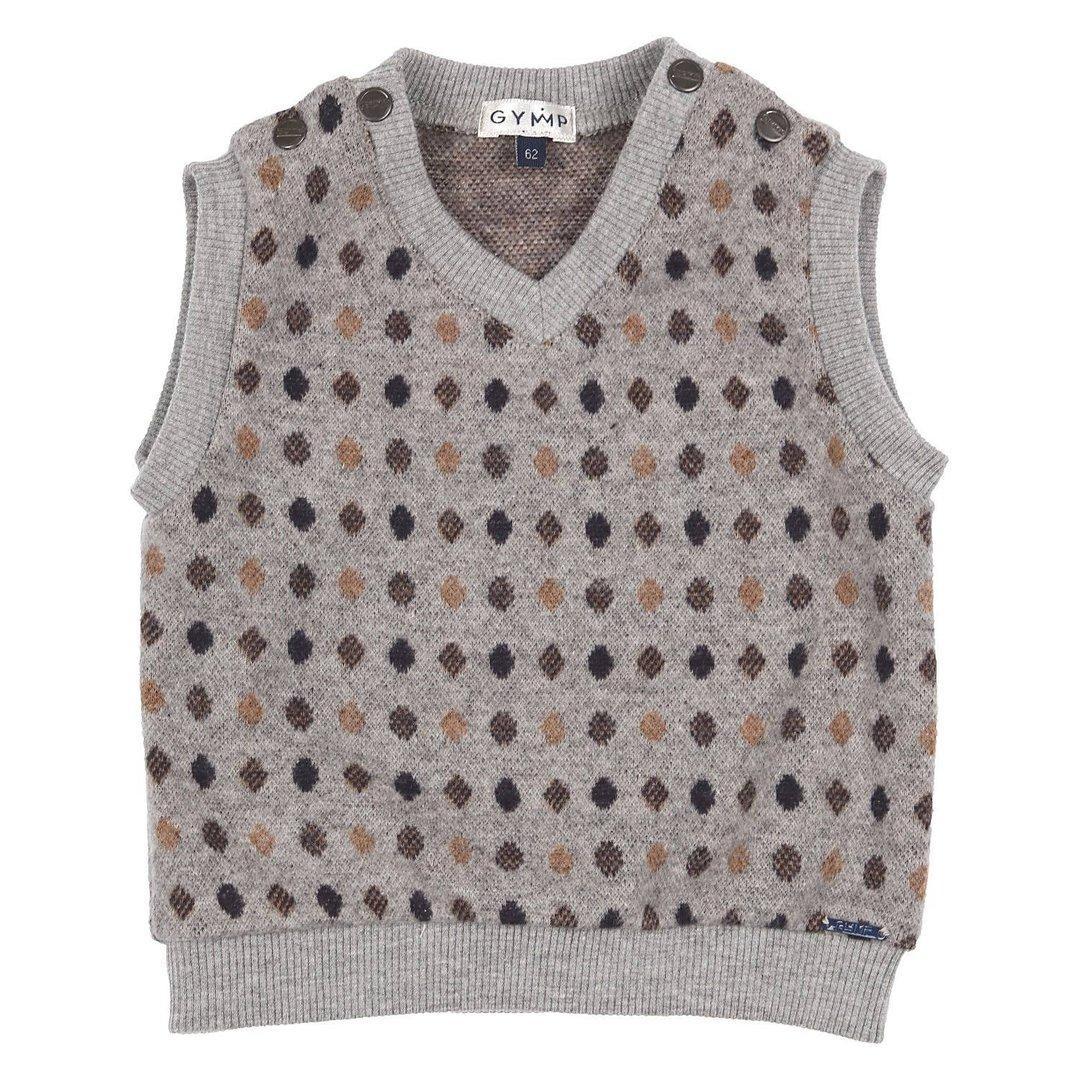 Steiff Baby-Jungen Pullunder Pullover