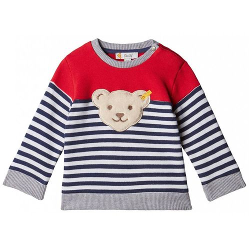 Steiff Baby Jungen Cosy Blue Sweat-Shirt