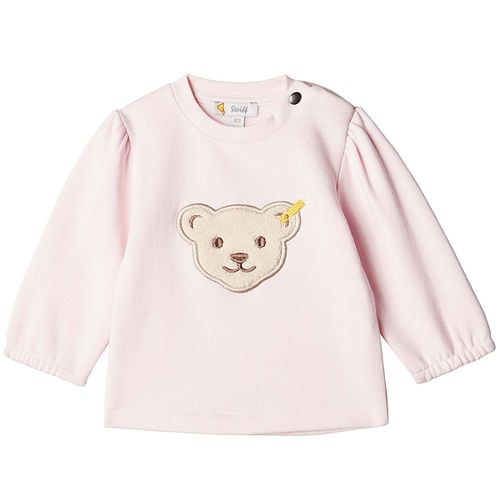 Steiff Baby Mädchen Rose Denim Sweat-Shirt