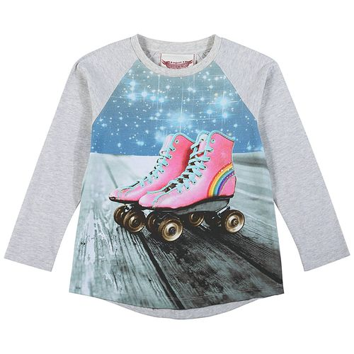 Paper Wings Mädchen Shirt Space Roller