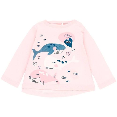 Boboli Baby Mädchen Save the whale Shirt