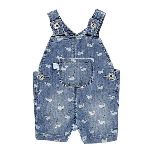 Boboli Baby Jungen Save the whale Latzhose