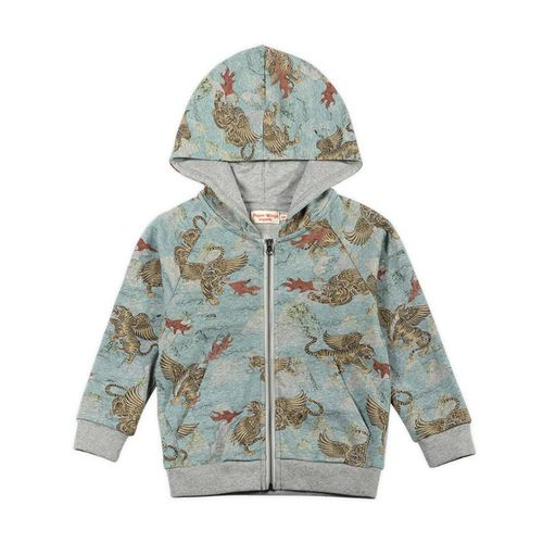 Paper Wings Jungen Sweat-Jacke Tiger