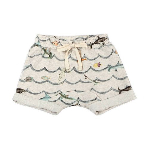 Paper Wings Baby Jungen Shorts Animal Wave