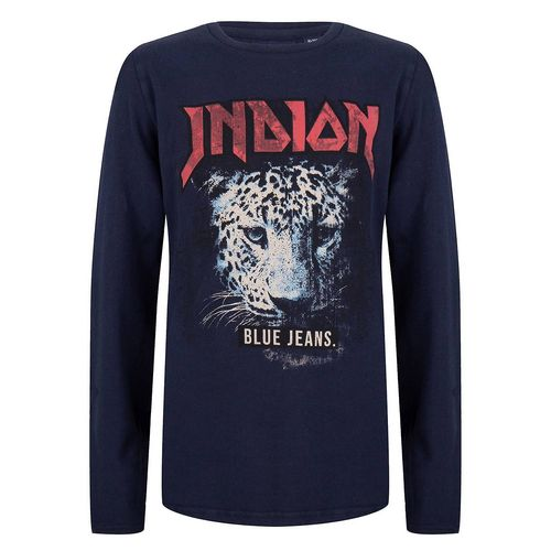 Indian Blue Jeans Jungen Shirt Gepard