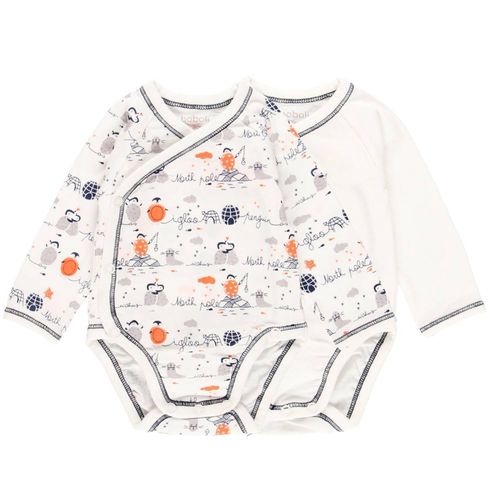 Boboli Baby Jungen Friends for Life Doppelpack Wickelbodies